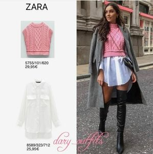 Zara knee high boots 6.5